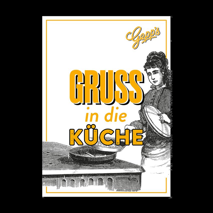 In Die Küche | Gruss In Die Kuche Gepp S Gaumenfreunde