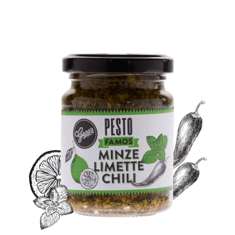 Pesto Famos Minze Limette Chili