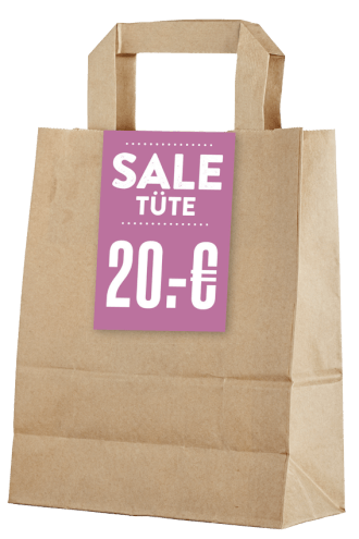 Sale Tüte: Das Multitalent