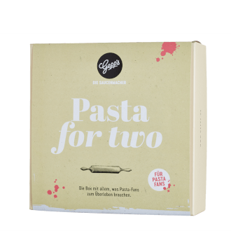 Geschenkbox Pasta for Two