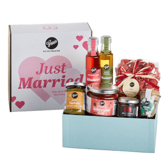 Geschenkbox Just Married